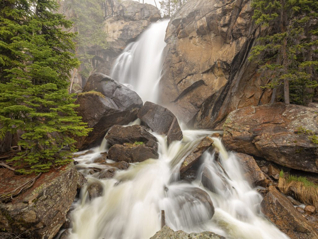 waterfall hikes in Colorado
