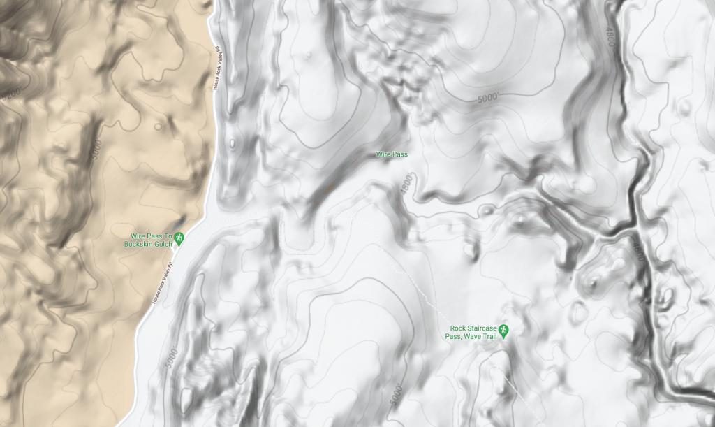Wire Pass Slot Canyon Trailhead