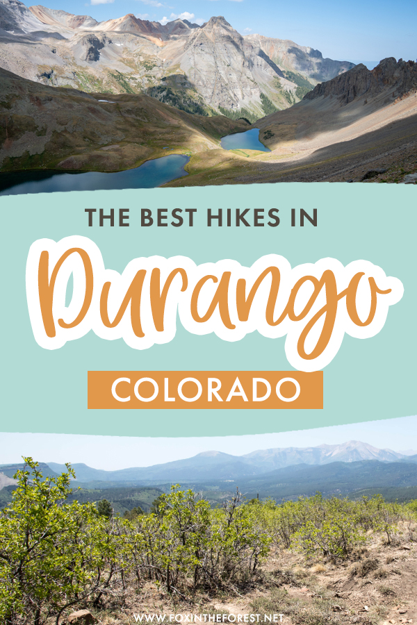 Durango is one of the best destinations in Colorado for hiking, and if you're planning a trip to Durango, Colorado or a quick getaway, these are the best hikes in Durango, Colorado that need to be in your itinerary!