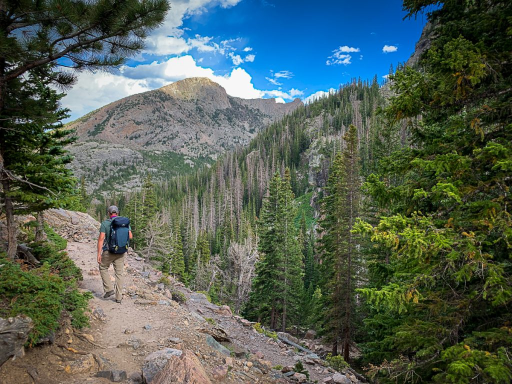 rocky mountian national park itinerary