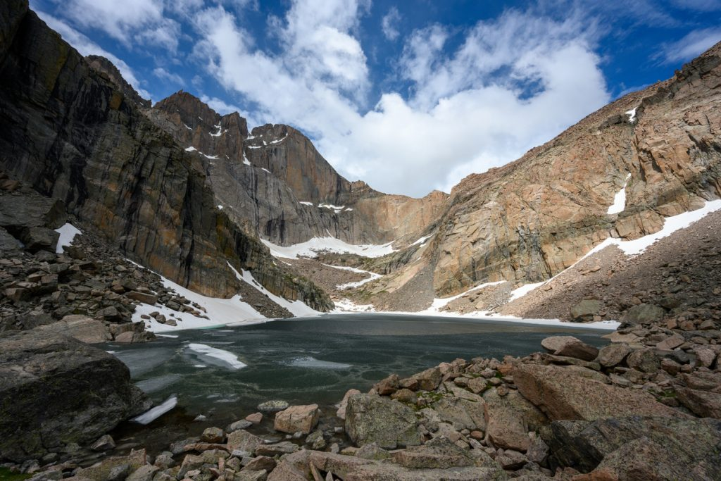 one day in rocky mountain NP