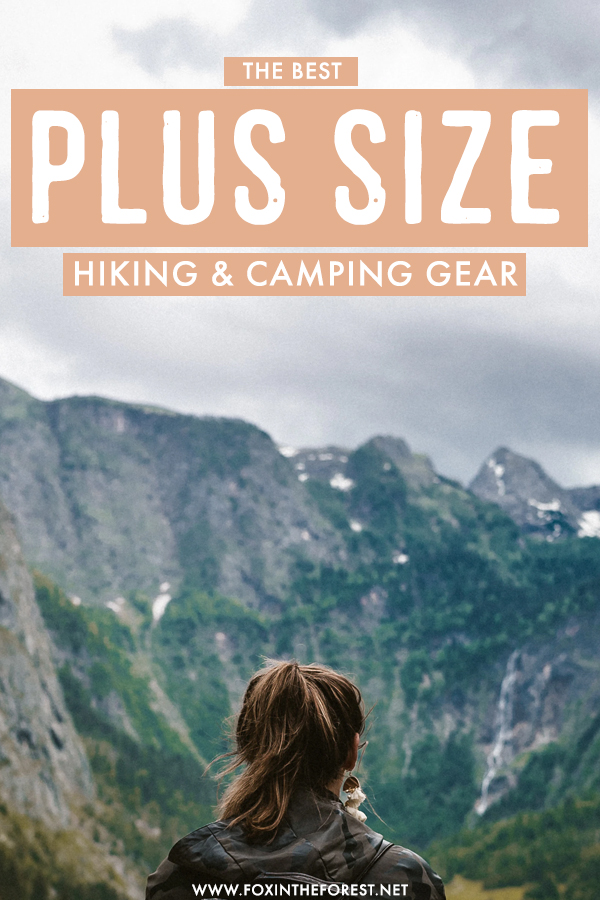 When you aren't the stereotypical hiker body, standard outdoor gear doesn't do the trick. Plus size hiking gear matters and here's exactly what you need!