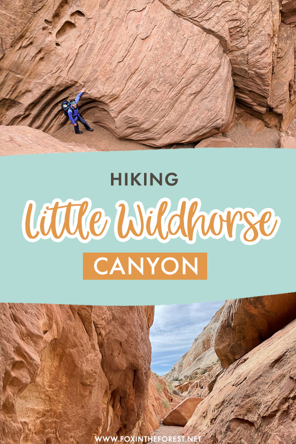The ultimate guide to hiking Little Wild Horse Canyon and Bell Canyon, two of the best slot canyons in Utah and a most in your Utah itinerary!