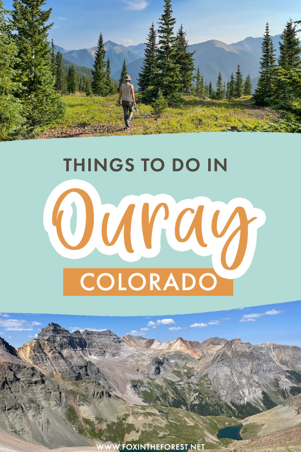 From gorgeous mountain scenery to lake adventures, here's the ultimate list of things to do in Ouray, Colorado so you can get started planning your trip to one of the most beautiful mountain towns in Colorado.
