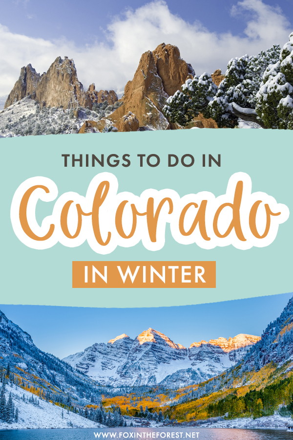 Wondering what to do in Colorado this winter? If you're looking for a Colorado vacation, here are some of the best places to visit and things to do in Colorado during the winter.